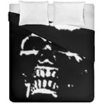 Morbid Skull Duvet Cover Double Side (California King Size)
