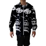 Morbid Skull Kids  Hooded Windbreaker