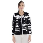 Morbid Skull Women s Windbreaker