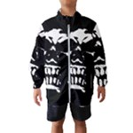 Morbid Skull Kids  Windbreaker