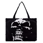 Morbid Skull Medium Tote Bag
