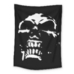 Morbid Skull Medium Tapestry