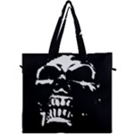 Morbid Skull Canvas Travel Bag