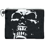 Morbid Skull Canvas Cosmetic Bag (XXL)