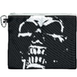 Morbid Skull Canvas Cosmetic Bag (XXXL)