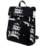Morbid Skull Flap Top Backpack
