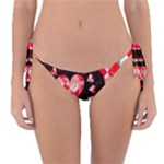 Love Heart Splatter Reversible Bikini Bottom