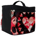 Love Heart Splatter Make Up Travel Bag (Big)