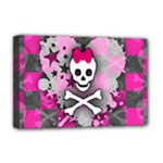 Princess Skull Heart Deluxe Canvas 18  x 12  (Stretched)