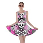 Princess Skull Heart Skater Dress