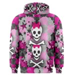 Princess Skull Heart Men s Pullover Hoodie