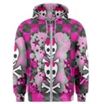 Princess Skull Heart Men s Zipper Hoodie