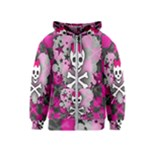 Princess Skull Heart Kids  Zipper Hoodie