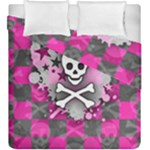 Princess Skull Heart Duvet Cover Double Side (King Size)