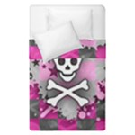 Princess Skull Heart Duvet Cover Double Side (Single Size)