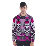 Princess Skull Heart Men s Windbreaker