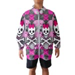 Princess Skull Heart Kids  Windbreaker