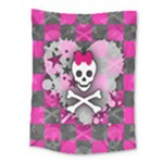 Princess Skull Heart Medium Tapestry