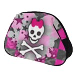 Princess Skull Heart Full Print Accessory Pouch (Small)