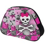 Princess Skull Heart Full Print Accessory Pouch (Big)