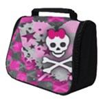 Princess Skull Heart Full Print Travel Pouch (Small)