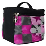 Princess Skull Heart Make Up Travel Bag (Small)