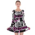 Punk Princess Long Sleeve Skater Dress
