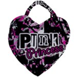 Punk Princess Giant Heart Shaped Tote