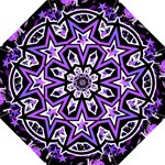 Purple Star Folding Umbrella