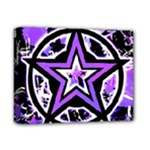 Purple Star Deluxe Canvas 14  x 11  (Stretched)