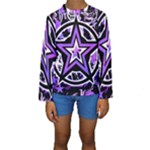 Purple Star Kids  Long Sleeve Swimwear