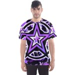 Purple Star Men s Sports Mesh Tee