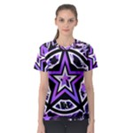Purple Star Women s Sport Mesh Tee