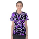 Purple Star Women s Cotton Tee