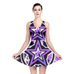 Purple Star Reversible Skater Dress