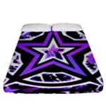 Purple Star Fitted Sheet (Queen Size)