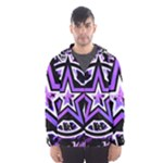 Purple Star Men s Hooded Windbreaker