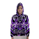 Purple Star Women s Hooded Windbreaker