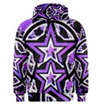 Purple Star Men s Pullover Hoodie