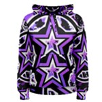 Purple Star Women s Pullover Hoodie
