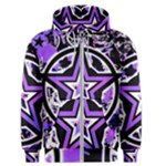 Purple Star Men s Zipper Hoodie