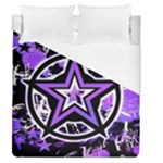 Purple Star Duvet Cover (Queen Size)