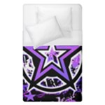 Purple Star Duvet Cover (Single Size)
