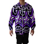 Purple Star Kids  Hooded Windbreaker