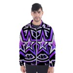 Purple Star Men s Windbreaker