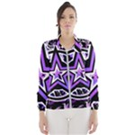 Purple Star Women s Windbreaker