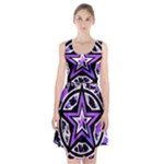 Purple Star Racerback Midi Dress