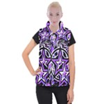Purple Star Women s Button Up Vest