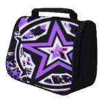 Purple Star Full Print Travel Pouch (Small)