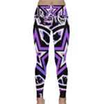 Purple Star Lightweight Velour Classic Yoga Leggings